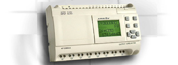 AF-20MRE DC12-24V 12Point DC digital input 8 points relay output-0
