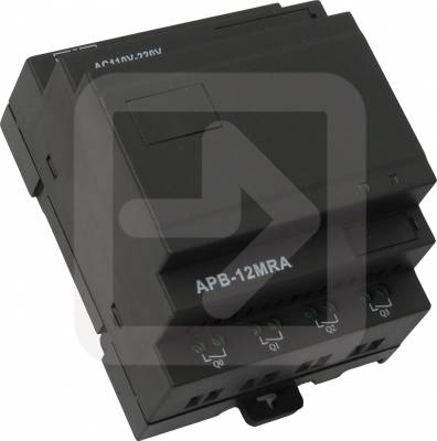 APB-12MRA PLC 8 εισόδων AC και 4 Relay NO στην έξοδο-0