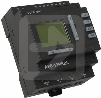 APB-12MRDL PLC 8 αναλογικών ή ψηφιακών εισοδων /4 Relay NO -0
