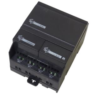 SR-12MRDC PLC 8 ψηφιακών εισόδων DC 12-24 Vdc/ 4 εξόδων relay NO-0