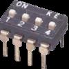 Dip Switch 4 διακοπτών 2 θέσεων -0