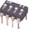 Dip Switch 8 διακοπτών 2 θέσεων -0