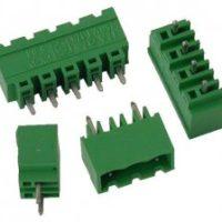PV02-5.08-V-P Κάθετη κλέμα πλακέτας 2 πόλων ύψους 12,20mm-0
