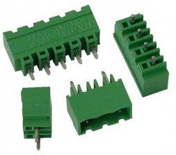 PV04-5.08-V-P Κάθετη κλέμα πλακέτας 4 πόλων ύψους 12,20mm-0