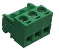 SHCH02-5-GY Οριζόντια κλέμα καλωδίου 2 πόλων ύψους 11,50mm-0