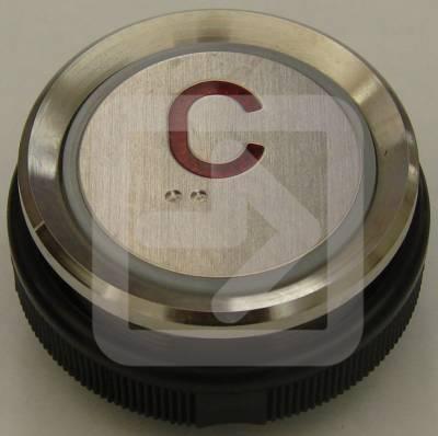 Μπουτόν στρογγυλό Ανελκυστήρα No:C CALL-0