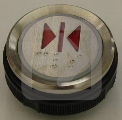 Μπουτόν στρογγυλό Ανελκυστήρα CLOSE-0