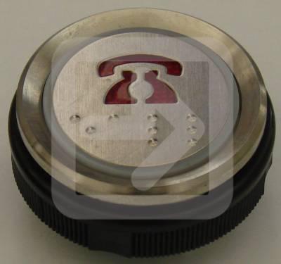 Μπουτόν στρογγυλό Ανελκυστήρα PHONE-0