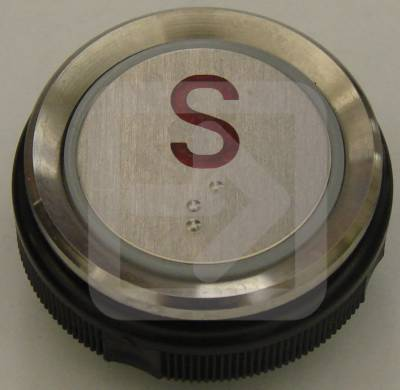 Μπουτόν στρογγυλό Ανελκυστήρα No:S-0