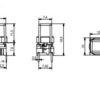 Ορθογώνιο μαύρο καπάκι ύψους 11mm για την σειρά 5G-641